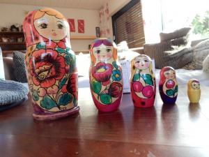 Andreas Matroschka Puppen - Trödeln für Aegina