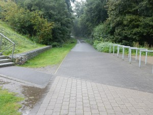 Wege für Radfahrer, Mountainbiker, Wanderer, Stockläufer - Halde Hoheward