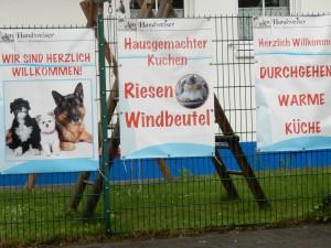 Hunde sind herzlich willkommen - Halde Hoheward