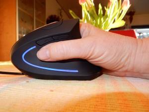 vertikale, ergonomische Computermaus, Der besondere Tag